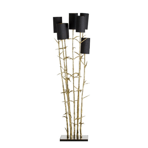 Buy online latest and high quality Mysterious Bamboo 7 Floor Lamp from Pieter Adam | Modern Lighting + Decor