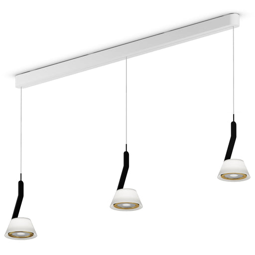 Buy online latest and high quality Lei Linea Tre 120 Iris Pendant Light from Occhio | Modern Lighting + Decor