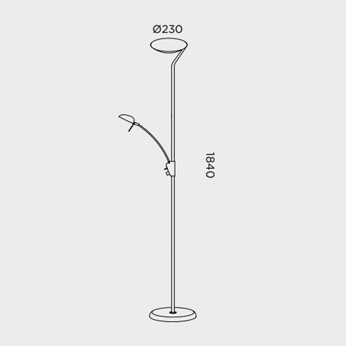 Buy online latest and high quality Pies P-801 Floor Lamp from Pujol Iluminacion | Modern Lighting + Decor