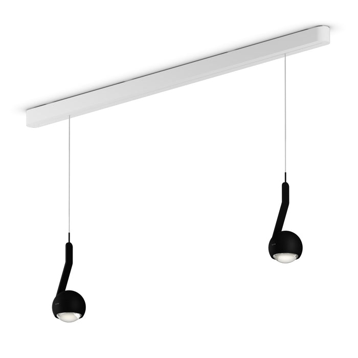 io Linea Due 120 C Pendant Light from Occhio | Modern Lighting + Decor