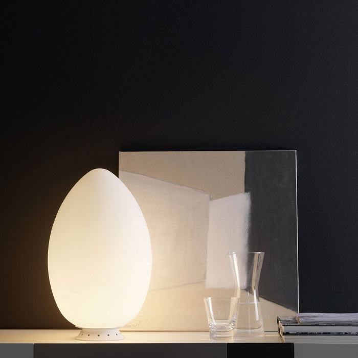 Buy online latest and high quality Uovo Table Lamp from Fontana Arte | Modern Lighting + Decor