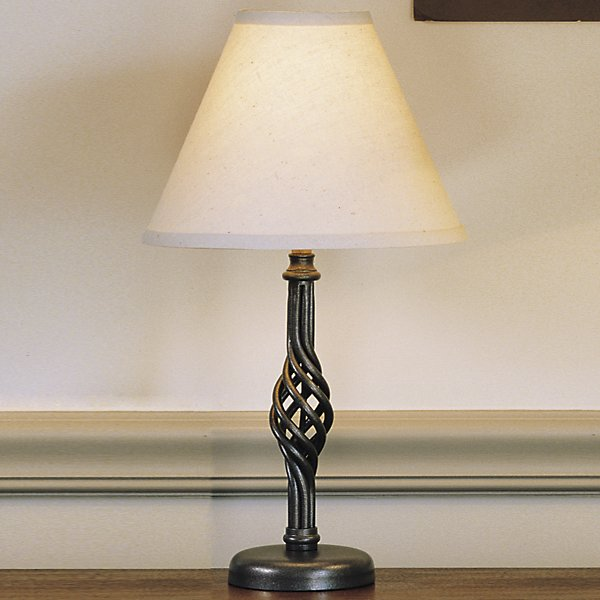 Buy online latest and high quality Twist Basket Table Lamp-Small from Hubbardton Forge | Modern Lighting + Decor