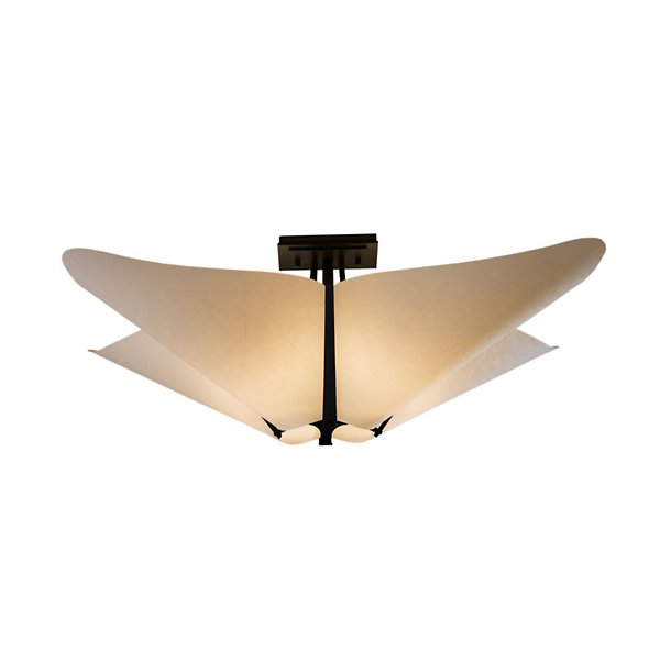 Buy online latest and high quality Kirigami SemiFlushmount from Hubbardton Forge | Modern Lighting + Decor