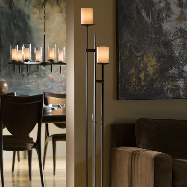 Rook 2 Light Floor Lamp | Modern Lighting + Decor