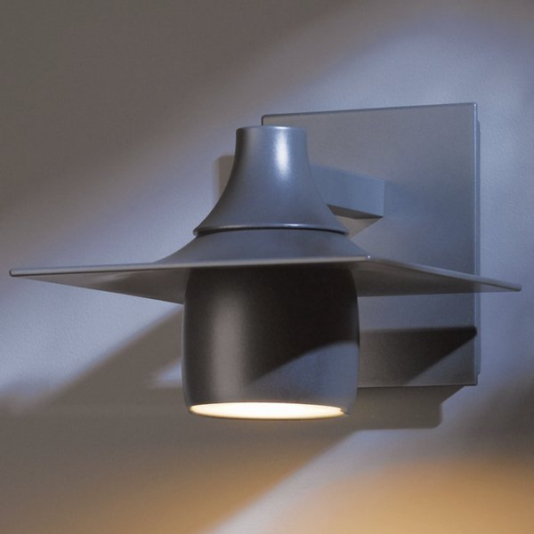 Buy online latest and high quality Hood Outdoor Dark Sky Wall Sconce from Hubbardton Forge | Modern Lighting + Decor