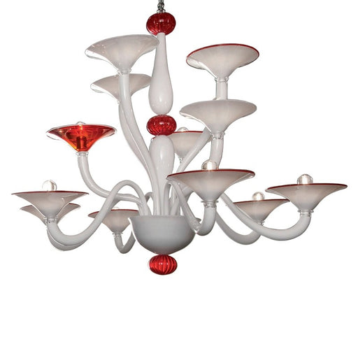 Venezia Chandelier from Mazzega 1946 | Modern Lighting + Decor