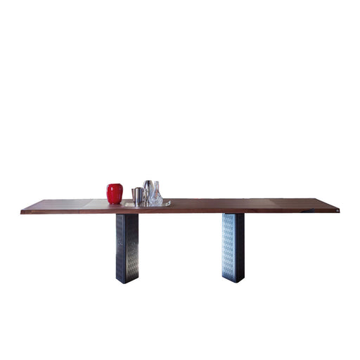 Buy online latest and high quality Venezia Wood Extension Table, 79/118-in from Tonin Casa | Modern Lighting + Decor