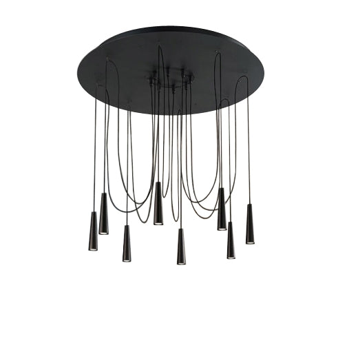Santral LA8 Chandelier from Morosini | Modern Lighting + Decor