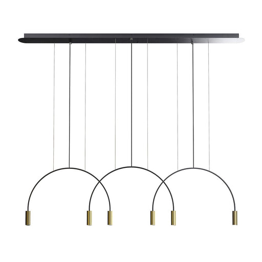 Buy online latest and high quality Volta L165.3D Linear Suspension Lamp from Estiluz | Modern Lighting + Decor