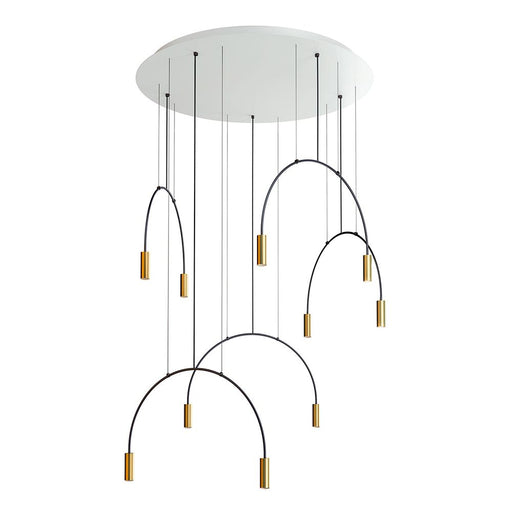 Buy online latest and high quality Volta R100.5D Round Suspension Lamp from Estiluz | Modern Lighting + Decor