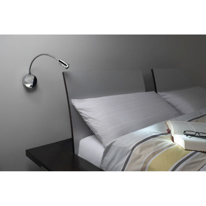 DIO FLEX PLATE LED chrome, 1-light source Wall Light  | Modern Lighting + Decor