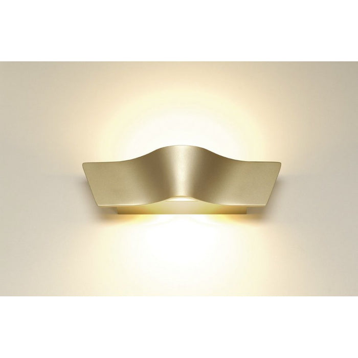 Buy online latest and high quality WAVE LED gold, 2-light sources Wall Light from SLV Lighting | Modern Lighting + Decor