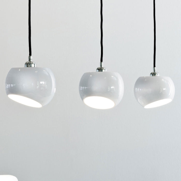 White Moons 3 Pendant Lamp from Licht im Raum | Modern Lighting + Decor