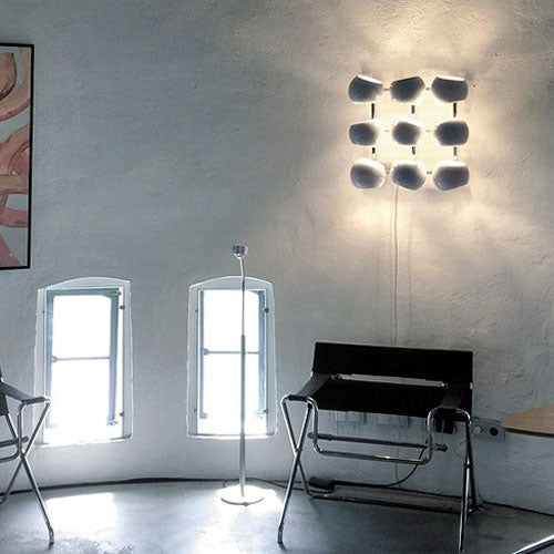 Buy online latest and high quality White Moons 3x3 Wall Lamp from Licht im Raum | Modern Lighting + Decor