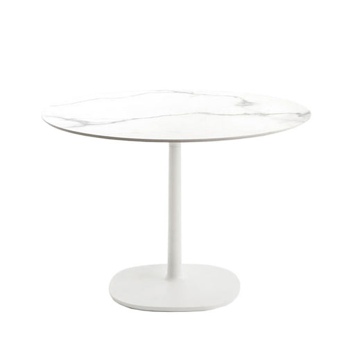 Buy online latest and high quality Multiplo Big Square Base Outdoor Table-Round Top from Kartell | Modern Lighting + Decor