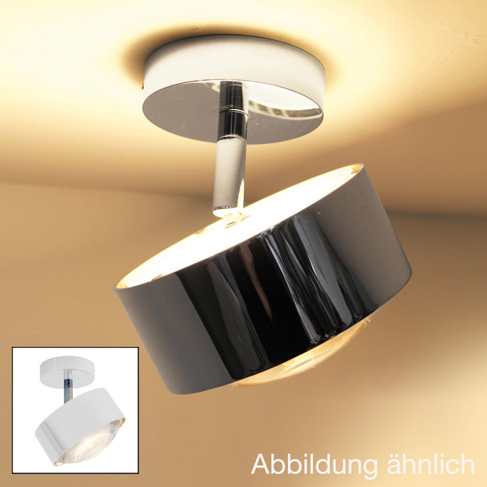 Puk Maxx Turn Up And Downlight Ceiling Light from Top Light | Modern Lighting + Decor
