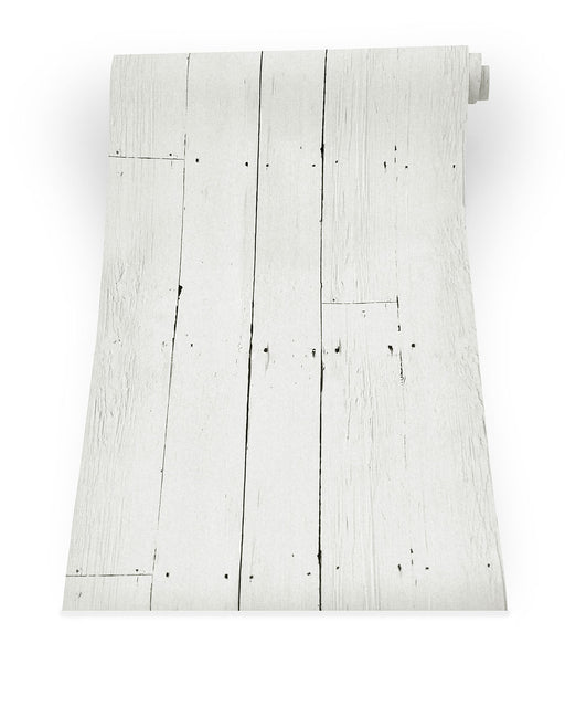 Buy online latest and high quality White Plank Wallpaper from Mineheart | Modern Lighting + Decor