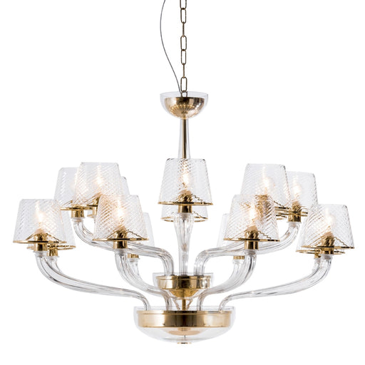 Wind Light Chandelier from Mazzega 1946 | Modern Lighting + Decor