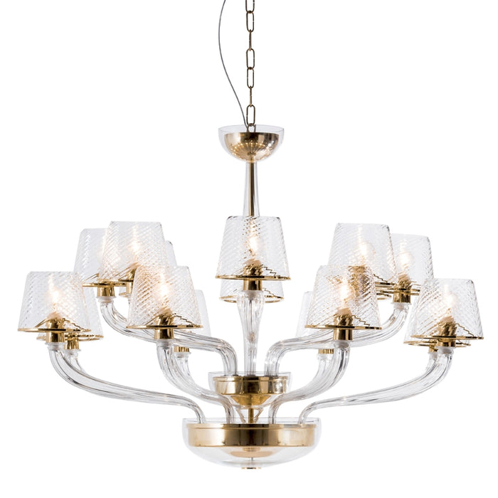 Buy online latest and high quality Wind Light Chandelier from Mazzega 1946 | Modern Lighting + Decor