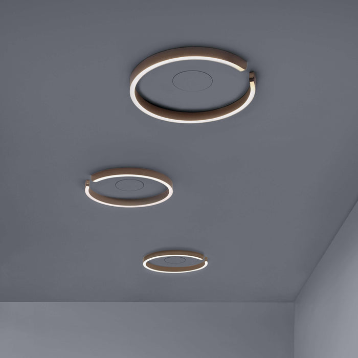 Buy online latest and high quality Mito Soffitto 40 Flat Ceiling Light from Occhio | Modern Lighting + Decor