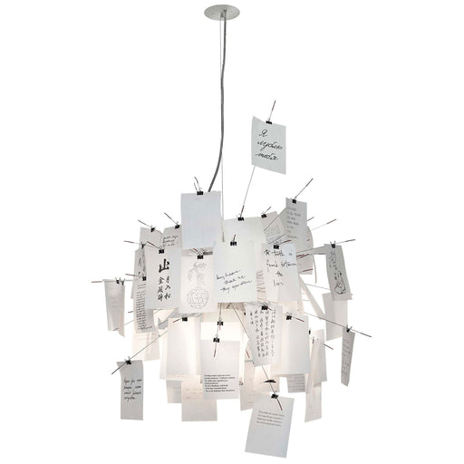 Zettelz 6 Chandelier | Pendant Light from Ingo Maurer | Modern Lighting + Decor