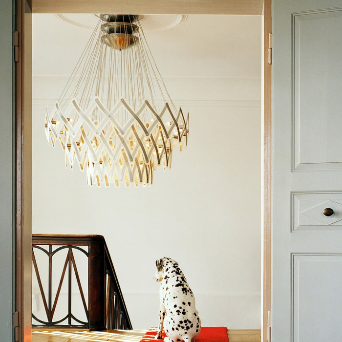Buy online latest and high quality Zoom 3 Chandelier from Serien Lighting | Modern Lighting + Decor