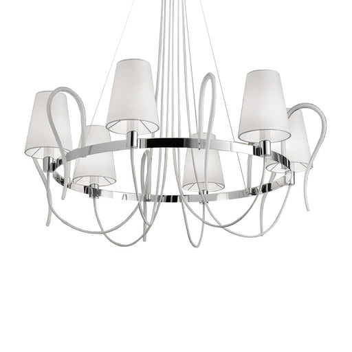 Rondo LA6 Chandelier from EviStyle | Modern Lighting + Decor