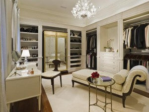 Light Accents for Dressing Rooms