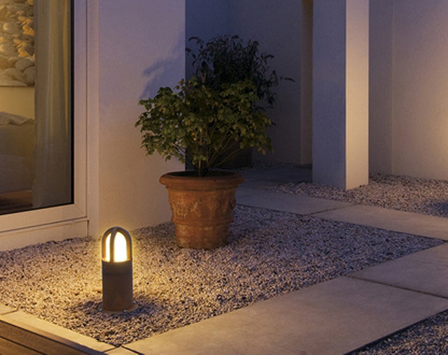 dome outdoor path lighting