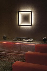 Open Grill ambient wall sconce lighting