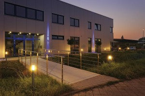 outdoor lighting for commercial building