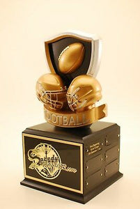 "FANTASY FOOTBALL 14"" 18 YEAR CHAMPION TROPHY- FREE ENGRAVING!"