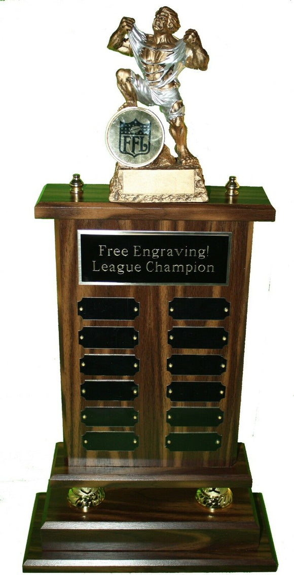FANTASY FOOTBALL TROPHY HUGE 12 YEAR 24