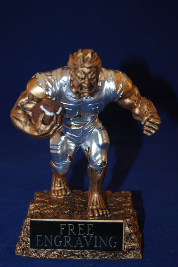 FANTASY FOOTBALL TROPHY MONSTER - FREE ENGRAVING