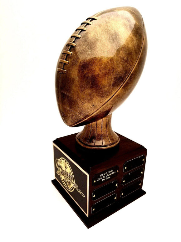 FANTASY FOOTBALL TROPHY 12 YEAR PERPETUAL - FREE ENGRAVING!
