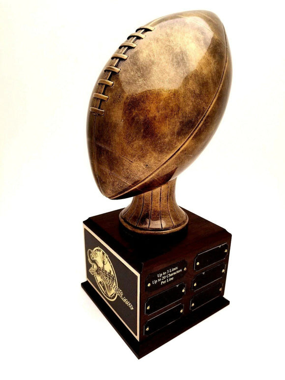 FANTASY FOOTBALL TROPHY 18 YEAR PERPETUAL- FREE ENGRAVING!
