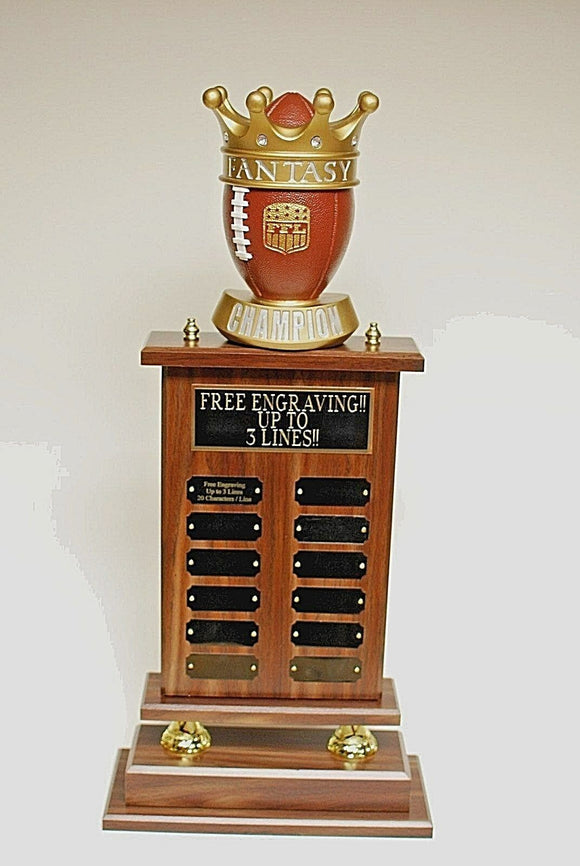 FANTASY FOOTBALL CHAMPION TROPHY 26