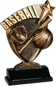 "7"" Baseball Broadcast Resin"
