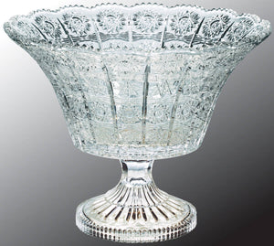 "9"" Royal Glass Bowl"