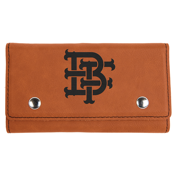 Rawhide Laserable Leatherette Card & Dice Set