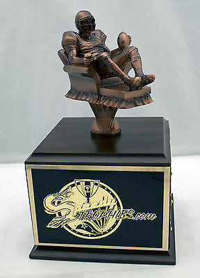 FANTASY FOOTBALL TROPHY 18 YEAR ARMCHAIR QB -  FREE ENGRAVING!