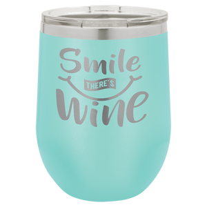 Polar Camel 12 oz. Matte Teal Vacuum Insulated Stemless Wine Tumbler w/lid