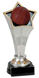 "8 3/4"" Basketball Rising Star Resin"