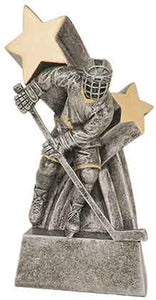 "6"" Male Hockey Super Star Resin"