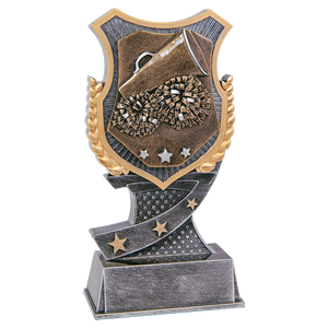 "6"" Cheer Shield Award"