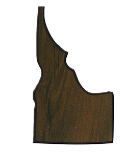 "6"" x 10"" Walnut Finish Black Edge Idaho State Plaque"