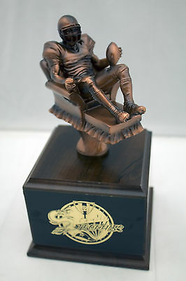 FANTASY FOOTBALL TROPHY ARMCHAIR QUARTERBACK-  FREE ENGRAVING!