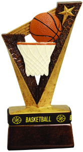 "6 1/2"" Basketball Trophybands Resin"