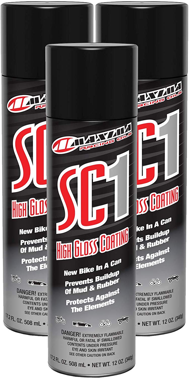 Maxima Racing Oils SC1 High Gloss Clear Coat 12oz. Spray