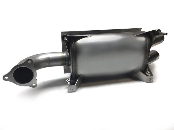 AA STAINLESS SLIP-ON EXHAUST FOR 2016-2021 RZR XP TURBO